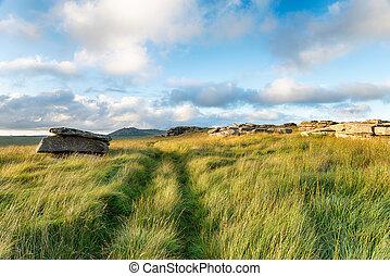 Garrow Tor in Cornwall