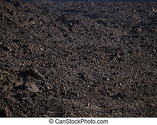 gartenerde, vulkanisch