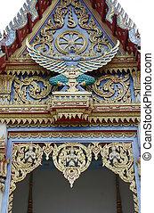 Garuda at the temple of Thailand