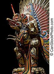 Garuda statue of the Hindu.