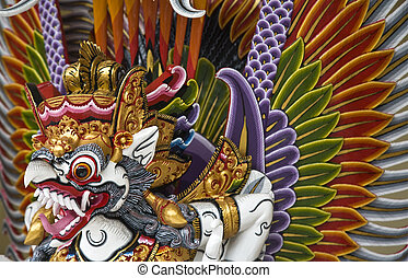 Garuda, in Bali to be believed the king of birds
