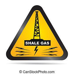 gas, antifracking, -, argillite, etichetta