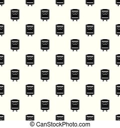 Gas boiler pattern seamless vector repeat geometric for any web design