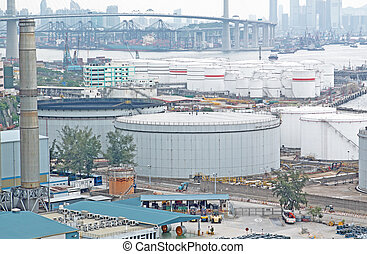 gas container and bridge