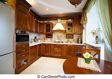 modern and beautiful kitchen