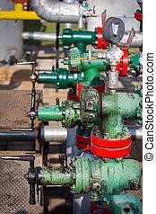 gas, en, olie industrie