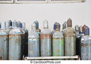 gas, energie, behälter