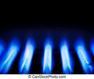 gas, fiamma