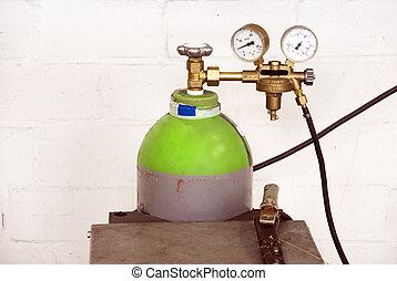 gas, flasche