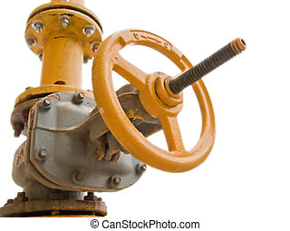 Gas fuel valve