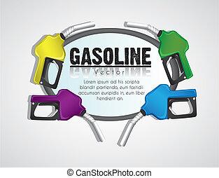 gas, hintergrund, pumpen