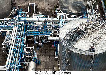 gas, industrie