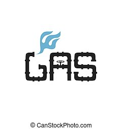 gas industry vector design template
