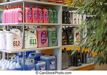gas, ivanovo, 13, antifreeze, olja, ryssland, butik, november, 2020, station