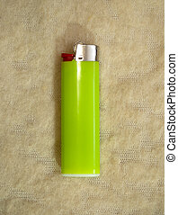 gas light green Lighter