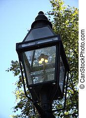 Gas-lit Lamppost 1