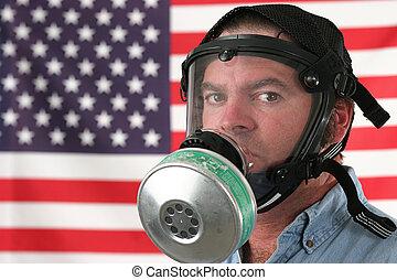 Gas Mask Horizontal