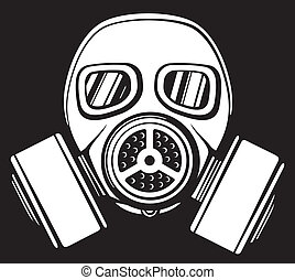 gas, mask), maskera, (army