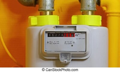 Gas Meter Turning