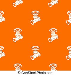 Gas pipe pattern orange for any web design best