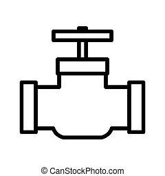gas pipeline illustration design