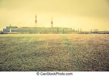 Gas power plant