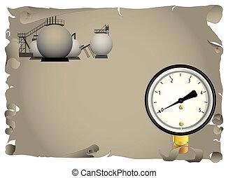 gas, procesamiento, industria