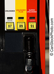 Gas pump - American gas station