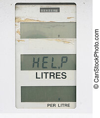 Gas pump needing some help - Give a helping hand