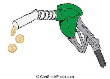 Gas Pump Nozzle Design