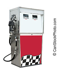Gas pump - Old time gas pump for leaded and unleaded...