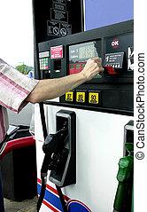 gas, pumpa