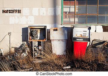 gas pumpar, årgång