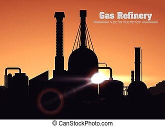 gas refinery design