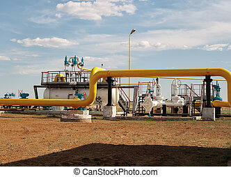 Gas separator. - Process unit for gas processing, the...