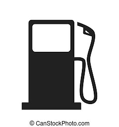 Petrol station sign - Gas station. Vector illustration...