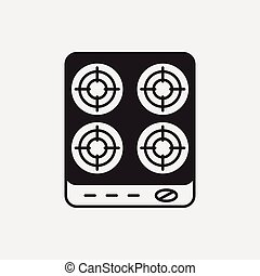 gas stove icon