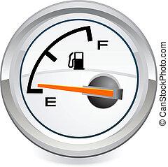 Gas Tank vector Illustration