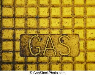 gas, underteckna