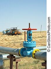 Gas valve.