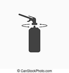 gas, vector, o, instrucciones, poliuretano, quemador, globo...