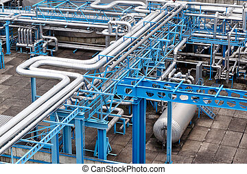 gas verwerking plant