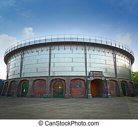 Gashouder building