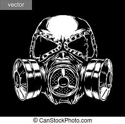 gasmaske, abbildung