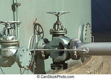 gasoil pipe