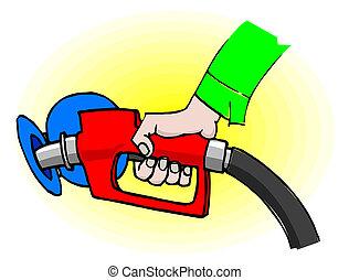 gasolina, combustível