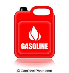 gasolina, jerrycan