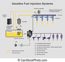 Gasoline fuel injection systems.