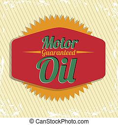 Gasoline industry - Illustration of the gasoline industry,...