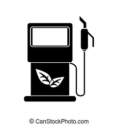gasoline pupm station ecological pictogram